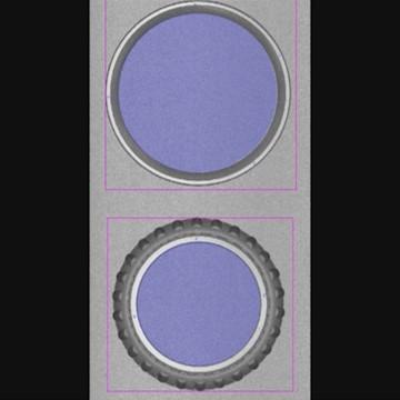ベアリング 複雑形状の検査 with Optocomb 3D scanners by XTIA