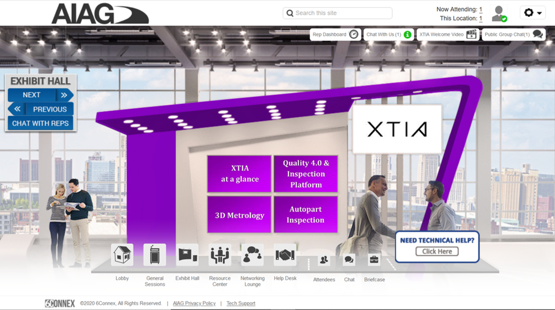 2020.10.14 | XTIA will go virtual and exhibit at the AIAG 2020 Quality Summit on October 21st.